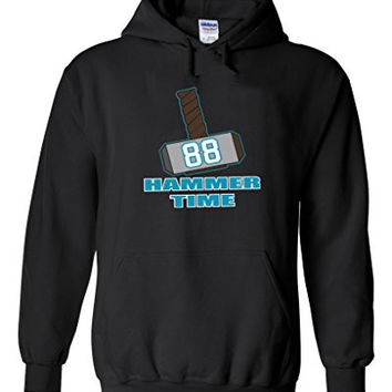 "Greg Olsen Carolina Panthers ""Thor"" Hooded Sweatshirt ADULT 2XL"