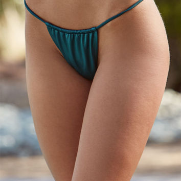 LA Hearts Side Strap Skimpy Bikini Bottom at PacSun.com