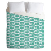 Loni Harris Summer Diamonds Duvet Cover