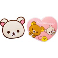 Korilakkuma | IRON-ON PATCH SET