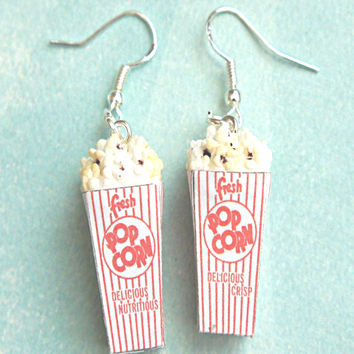Popcorn Dangle Earrings