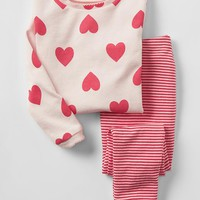 Hearts & Stripes Sleep Set