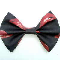 Small Rocky Horror Picture Show Hair Bow- Geekery