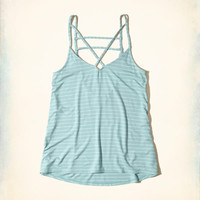 Girls Strappy Swing Tank | Girls New Arrivals | HollisterCo.com