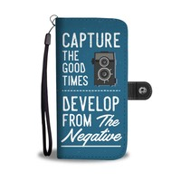 'Capture the Good Times' [Photography] Wallet Phone Case