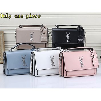 YSL Hot Selling Ladies Pure Single Shoulder Bag Shopping Bag