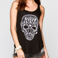 Billabong Dia De Los Vivos Womens Tank Black  In Sizes