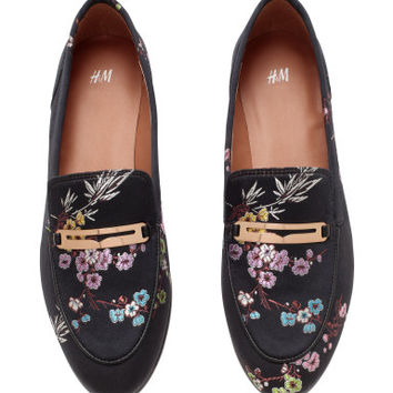 H&M Satin loafers $59.99