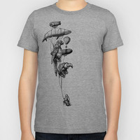 The Helium Menagerie Kids T-Shirt by Eric Fan