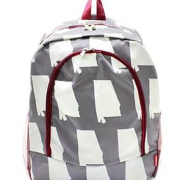 Alabama Print Backpack