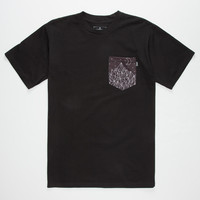 BOHNAM Cosmic Mens Pocket Tee | Solid & Stripe Tees