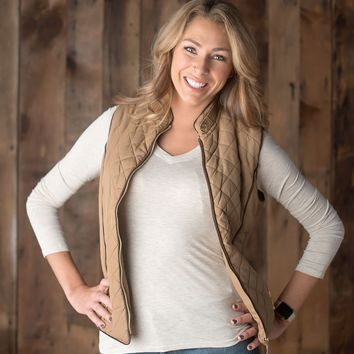 Quaint and Quilted Vest