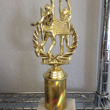 Volleyball Custom Trophy