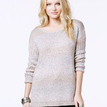 Sanctuary High-Low Marled Pullover Sweater - Sweaters - Women - Macy's