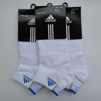 Adidas Woman and Men Casual Sport No-Show Invisible Socks