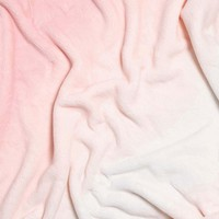 Ombre Plush Throw Blanket (Pre-order item. Ships August 6, 2018)