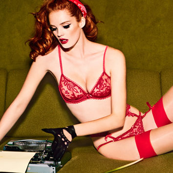 New In by Agent Provocateur - Denver Suspender