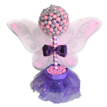 Lollipop Fairy Princess Topiary Pink And From Keep It Candy