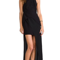 Finders Keepers Next to Me Maxi Dress in Black
