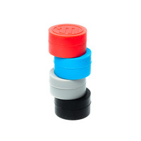 Non-Stick Wax and Concentrate Container Jars by Myster - Assorted Colors