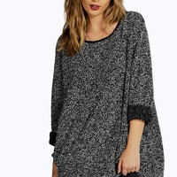 Isobel Boucle Knit Tunic Jumper