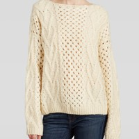 Urban Day Sweater - Heavy Gauge Cable Knit