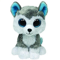 2015 Hot Ty Beanie Boos Big Eyes Small Unicorn Husky Plush Toy Doll Kawaii Stuffed Animals Collection Lovely Children's Gifts