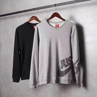 Nike Pullover Men With Pocket Long Sleeve Embroider Fashion Casual Sweater G-A-GHSY-1