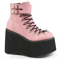 Vegan Leather Ankle Festival & Rave Boots