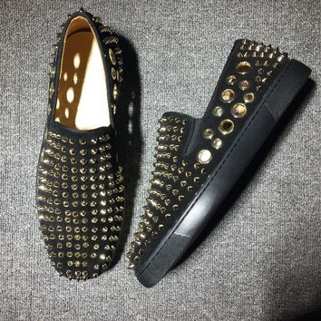 VON3TL Cl Christian Louboutin Flat Style #729