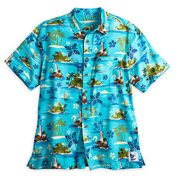 Disney Moana Woven Shirt for Men | Disney Store