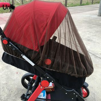 Permethrin Treated Baby Mosquito Net for Strollers, Carriers, Car Seats, Cradles