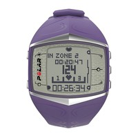 Polar Watch Set - Women's FT60 Digital GPS & Heart Rate Monitor (Purple)