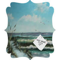 Rosie Brown Beach Dunes Quatrefoil Magnet Board