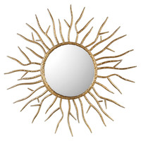 Astor Gold Starburst Mirror by Uttermost