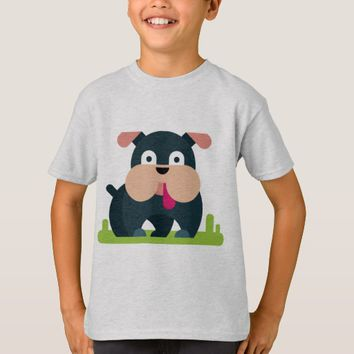 Fun Dog Design T-Shirt