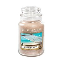 Yankee Candle Sun & Sand Large Jar Candle, Fresh Scent
