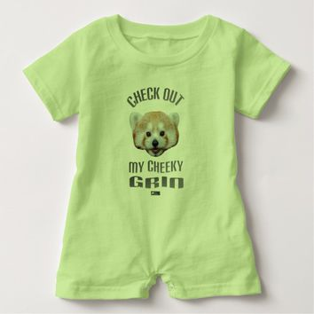 Cheeky Grin Baby Design by Kat Worth Baby Romper