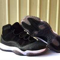 Nike Air Jordan 11 Retro Prem HC Heiress - Black Gold (852625-030)
