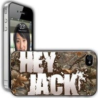 "iPhone 4/4s Case - Duck Dynasty - ""Hey Jack"" - Clear Protective Hard Case"