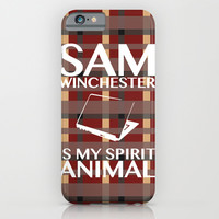 Sam Winchester is my spirit animal iPhone & iPod Case by ElectricShotgun