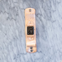 Lux Leather Apple Watch Band in Rose Gold Metallic