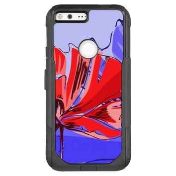 Purple Blossom OtterBox Commuter Google Pixel XL Case