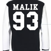 Zayn Malik Date Of Birth One Direction Varsity Jacket