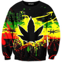 Weed of Jamaica Crewneck