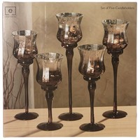 Set of 5 Candleholders 657271837 | Candles | Home Decor | For the Home | Burlington Coat Factory