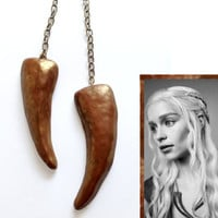 Daenerys Targaryen Cosplay Necklace - Khaleesi Dragon Claw - Game of Thrones
