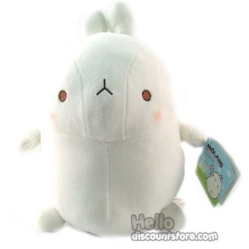 Korea Drama Marshmallow bunny Molang Cute Stuffed Plush Doll 25Cm $23.99