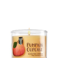 Mini Candle Pumpkin Cupcake