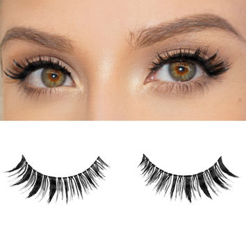 Milanté BEAUTY Envious Vegan False Lashes Black Natural Thick Long Full Reusable Fake Strip Eyelashes